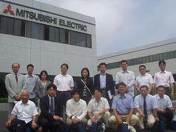 た三菱電機工場