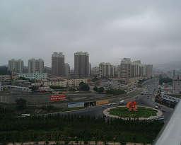 大連市内の景色